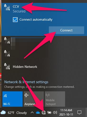 CCV Wireless Network